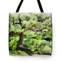 """Sunny Summer Day Tote Bag for Sale by Ann Powell (13"""" x 13"""")"""