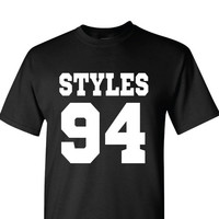 Harry Styles DOB T-Shirt | One Direction T-Shirt | Date of Birth