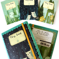 Land-Air-Water Set of 3 Mini Journals