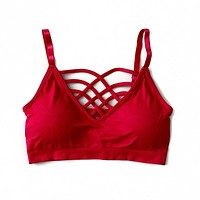 NEW! Red Criss Cross Bralette