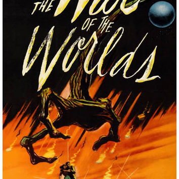 War of the Worlds (1953) Movie Poster 11x17