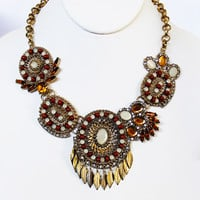 Southwestern Rustic Statement Necklace