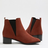 New Look Wide Fit Chelsea Boot at asos.com