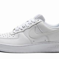 DCCK Nike Air Force 1 315122-111 White For Women Men Running Sport Casual Shoes Sneakers