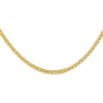 Thin Franco Chain Necklace