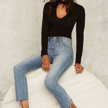 Band Together Cutout Top