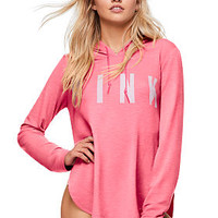 Side Slit Pullover - PINK - Victoria's Secret