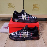 Burberry 2021 Men Fashion Boots fashionable Casual leather Breathable Sneakers Running Shoes09010cc