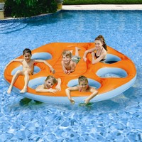 Poly Group Party Island Inflatable Raft