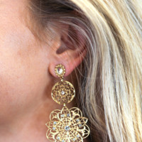 Eloise Classic Drop Earrings