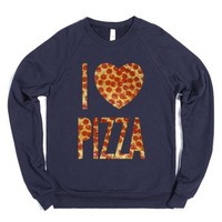 Navy Sweatshirt | Funny Gifts For Pizza Lovers