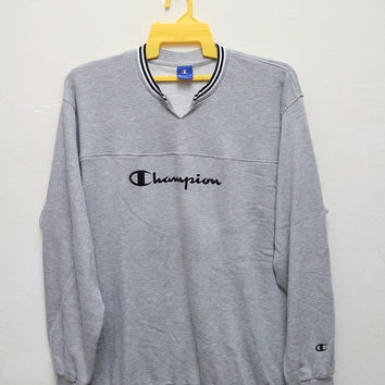 15% OFF Vintage CHAMPION Hip Hop Swag Street Wear Sports Pullover Sweater Sweatshirt XXXL