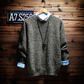 Men's Comfortable Soft Slim Fit Sweater