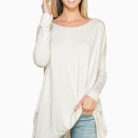 ShopSosie Style : Cozy Tunic in Sand by Piko