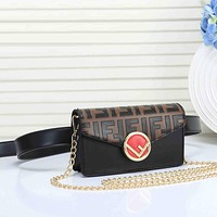 FENDI FF Leather Belt bag