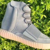 ADIDAS YEEZY BOOST 750 LIGHT GREY 36--46