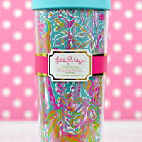 LILLY PULITZER: Thermal Mug - Scuba to Cuba