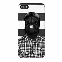 Funny Pug Life 2 iPhone 5/5s Case
