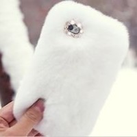 Fluffy iPhone case in Cell Phones & Accessories | eBay
