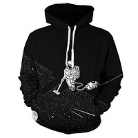 Space Cleaning Astronaut Hoodie