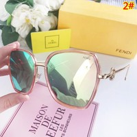 Fendi Fashion New Polarized Sun Protection Glasses Travel Women Eyeglasses 2#