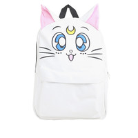 Sailor Moon Artemis Faux Leather Backpack