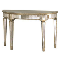 Marais Table, Mirrored Accent Table - Accent Furniture - furniture - Macy's