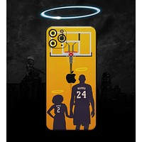 MAMBA // Yellow - Non-Profit Memorial Skin-Kit compatible with the Apple iPhone 12, 12 Pro Max, 12 Mini, 11 Pro or 11 Pro Max (All iPhones Available) (All iPhone versions available)