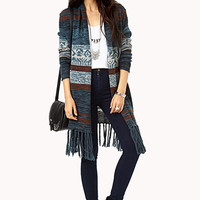 Boho Darling Fringed Cardigan