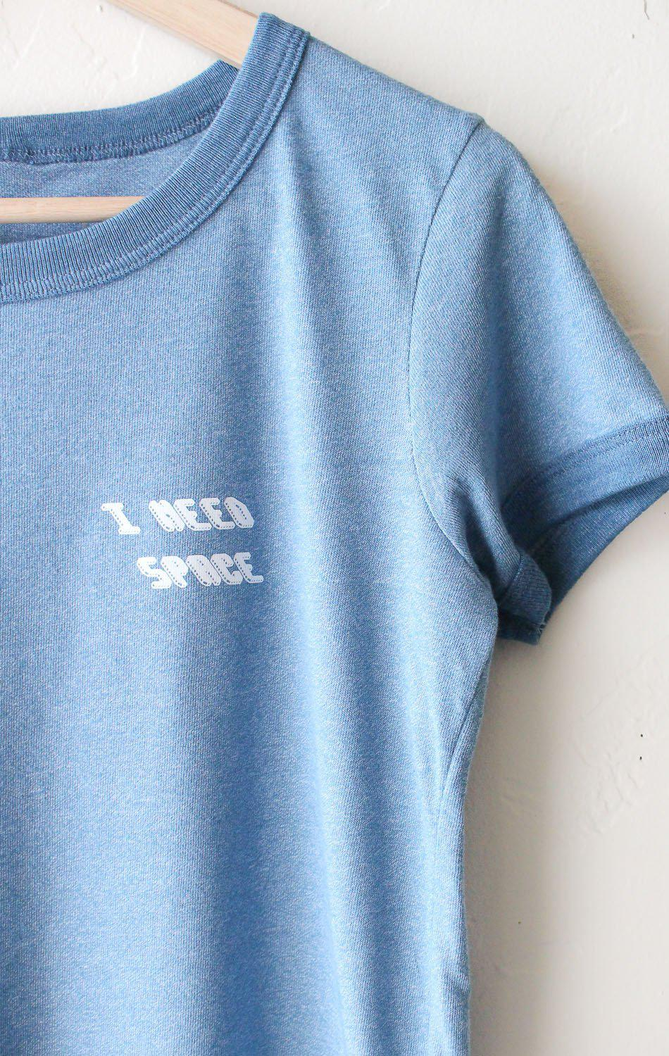 Image of I Need Space Ringer Tee