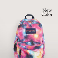 JanSport Galaxy Backpack - Airbrush Painted Backpack - Everyday Backpack