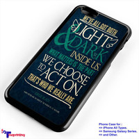 harry potter quote sirius - Personalized iPhone 7 Case, iPhone 6/6S Plus, 5 5S SE, 7S Plus, Samsung Galaxy S5 S6 S7 S8 Case, and Other