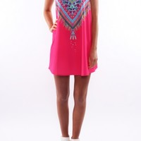 Lakota Dress Pink - Womens