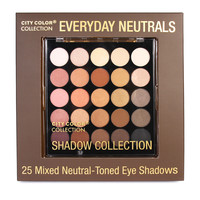 City Color Collection Everyday Neutrals Shadow Collection