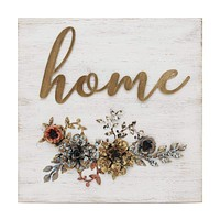 """Home"" Cottage Wall Decor By Stratton Home Dã©Cor"