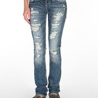 Silver Tuesday Straight Stretch Jean
