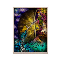 """Mandie Manzano """"Fairy Tale off to Neverland"""" KESS Naturals Canvas (Frame not Included)"""