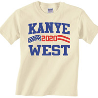 KANYE WEST 2020 - Funny Adult Graphic T Shirt - president flag deez independent election america nutz -S-3xL many colors tshirt-486