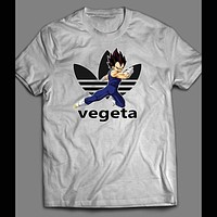 "DRAGON BALL Z "" VEGETA"" SPORTS WEAR PARODY MASH UP SHIRT"