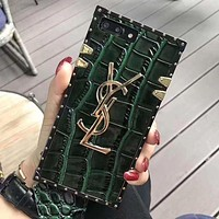 YSL Fashion Luxury Print iPhone Phone Cover Case For iphone 6 6s 6plus 6s-plus 7 7plus