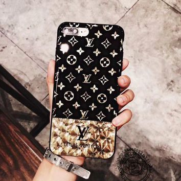 LV 2017 Hot ! iPhone 7 iPhone 7 plus - Stylish Cute On Sale Hot Deal Apple Matte Couple Phone Case For iphone 6 6s 6plus 6s plus