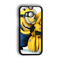 Minion Love Bananas HTC One M8 Case