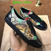 GUCCI Women Men Fashion Lace-up Casual Sneakers Sport Shoes Best Quality