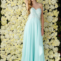 G2049 Chiffon Bridesmaid Prom or Mother of Bride Dress Evening Gown