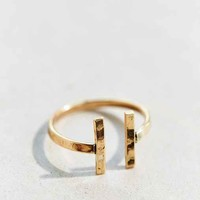 Christine Double Bar Layering Ring