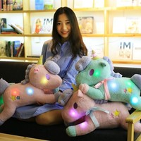 Unicorn Plush Stuffed Animals - LED Toys