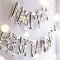 """16""""/42"""" INCH Large Foil Letter Number Balloons Birthday Wedding Party Decoration"""