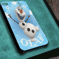BLOCKCD Olaf disney frozen  iphone 4/4s/5/5s/5c, samsung galaxy s3/s4/s5 and ipod touch 4/5 custom
