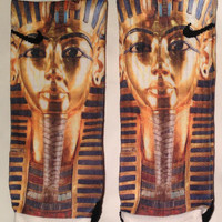 King Tut Pharoah Custom Nike Elite Socks