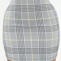 Waiting For The Weekend Skirt - Black/White